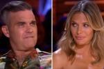 X Factor, Robbie Williams «apprezza» troppo l'esibizione della concorrente: la moglie lo fulmina con lo sguardo