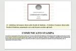 Il testo del comunicato del CdM (sopra), il successivo comunicato di Palazzo Chigi (sotto)