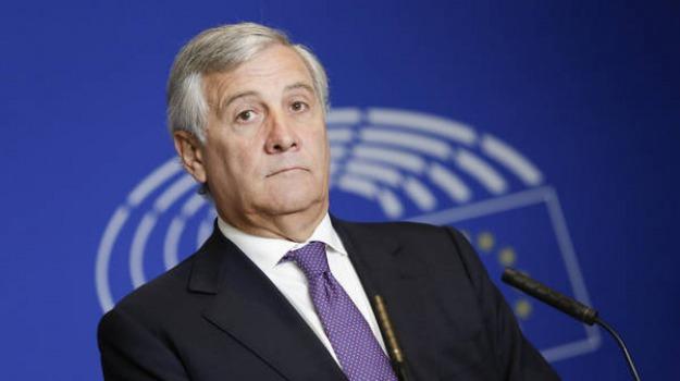 presidenza parlamento europeo, Antonio Tajani, Sicilia, Politica