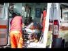 Woman killed as car hits bar tables
