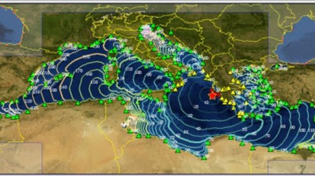 Tsunami sicilia calabria, Alessandro Amato, Sicilia, Società
