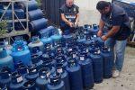 Bombole di gas stoccate oltre il limiti, denunciato il titolare di un'impresa di Limbaldi