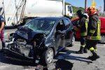 Lamezia Terme, incidente sulla Statale 280: una donna resta ferita
