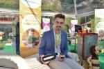 A Matteo Andreatti del Trentino Alto Adige l'Oscar nella categoria Impresa3.terra per il progetto Beewellness contadino (fonte: Coldiretti)