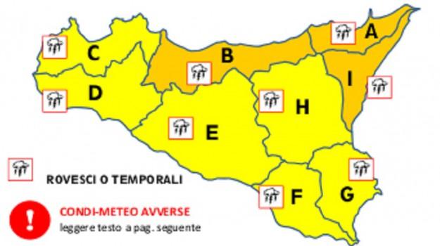 allerta meteo, maltempo sicilia, Sicilia, Cronaca