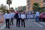Corteo di Forza Nuova a Catanzaro, cori contro il sindaco di Riace