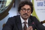 """Infrastrutture, Toninelli: """"Torno in Calabria, se non riparte il Sud non riparte l'Italia"""""""