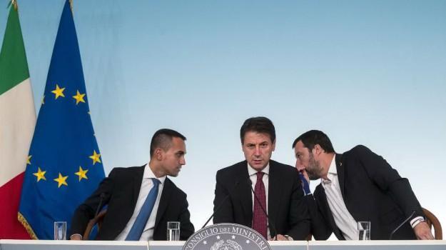 governo, lega, m5s, Giuseppe Conte, Luigi Di Maio, Matteo Salvini, Sergio Mattarella, Sicilia, Politica