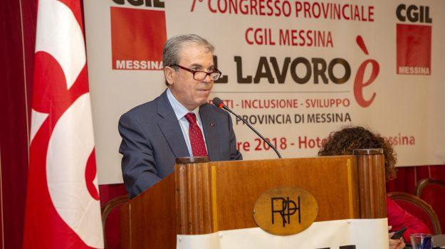 cgil messina, Giovanni Mastroeni, Messina, Sicilia, Politica