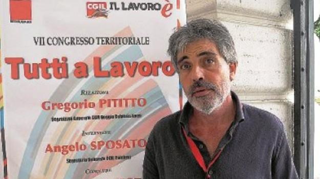 cgil reggio locri, Gregorio Pititto, Reggio, Calabria, Politica