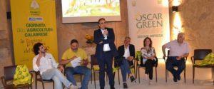 Il Presidente Franco Aceto alla finale regionale premio Oscar Green