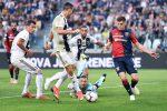 La Juventus frena contro il Genoa, nel pomeriggio ko della Roma: la Spal espugna l'Olimpico