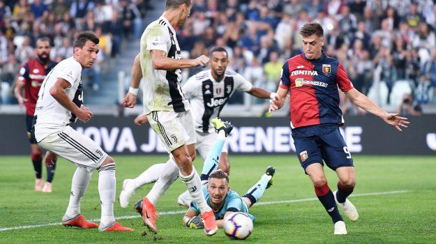 2-0, juve-genoa, serie a, Sicilia, Sport