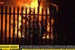 Tragedia dopo la partita, precipita l'elicottero del patron del Leicester: tutte le foto