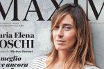 In jeans e maglietta a righe, Maria Elena Boschi in copertina negli scatti di Oliviero Toscani