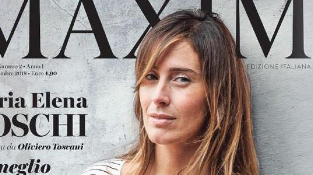 boschi copertina rivista, Maria Elena Boschi, Sicilia, Società
