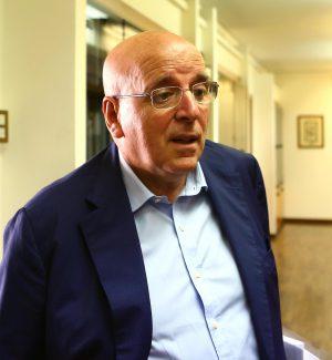 Il presidente della regione Calabria Gerardo Mario Oliverio
