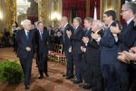 Mattarella riceve delegazione consoli Italiani