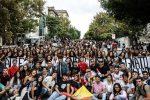 Manifestazione studentesca anche a Messina, i ragazzi in corteo fino al municipio
