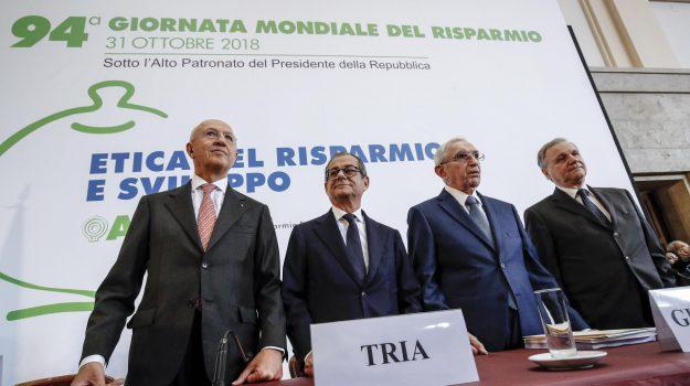 governatore banca italia, spread, Antonio Patuelli, Giovanni Tria, Giuseppe Guzzetti, Ignazio Visco, Sicilia, Economia