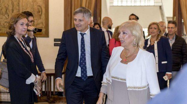 sottosegretario gaetti a cosenza, Luigi Gaetti, Paola Galeone, Cosenza, Calabria, Archivio