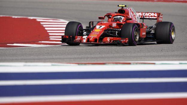 Gp Stati Uniti: trionfo Ferrari con Raikkonen, Hamilton terzo rinvia la festa Mondiale