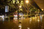 Temporale su Reggio Calabria, le immagini fra danni e disagi