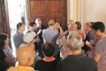 Sit-in dei dipendenti della psichiatria calabrese, la promessa di un incontro con Scura
