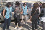 Migranti, una delegazione dell'Onu in visita alla tendopoli di San Ferdinando