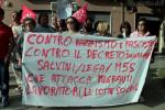 Palermo, manifestazione di solidarietà per il sindaco di Riace Mimmo Lucano