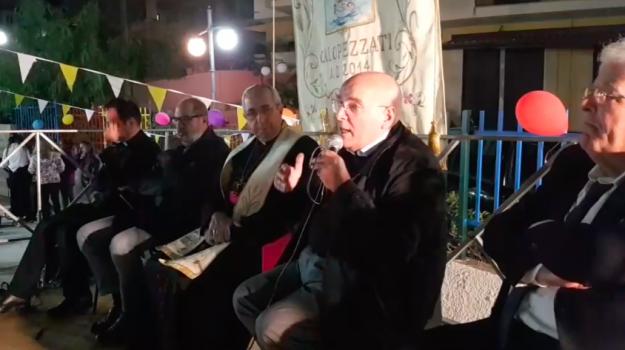 calopezzati, Centro pastorale parrocchiale 'San Tarcisio', Oliverio Calopezzati, Franco Cesare Mangone, Mario Oliverio, Nicola Alessio, Cosenza, Calabria, Politica