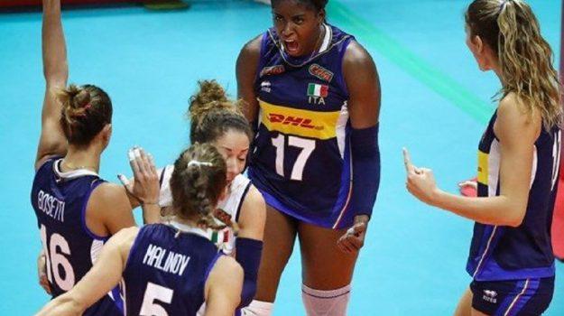 mondiali pallavolo femminile, volley, Sicilia, Sport