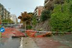 Crotone, pioggia e disagi: crollato un muro in città, decine di interventi in provincia