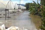 Lamezia, la pioggia fa esondare il Turrina e il fango invade la SS18