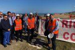Nuovo lungomare di Torrenova, il sindaco saluta la posa della prima pietra