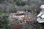 I danni del maltempo a Gangi (Palermo)