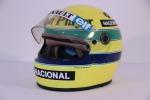 Uno dei caschi di Ayrton Senna all'asta su Catawiki