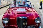 il presidente dell'Aci, Angelo Sticchi Damiani, alla Targa Florio Classic