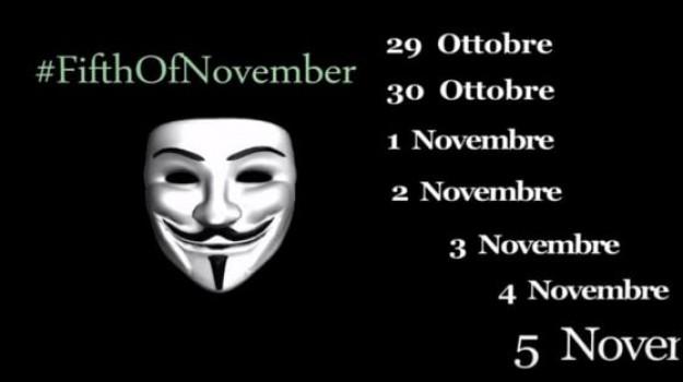 Anonymous Italia, Catanzaro, Calabria, Società