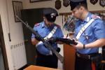 Armi illegali in casa, arrestato ad Agnana Calabra