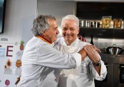 L'inaugurazione dell'evento food del Corriere
