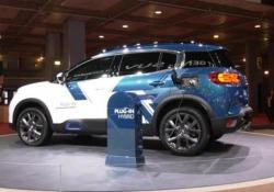 Citroën: ecco la C5 Aircross ibrida Il marchio francese anticipa al Mondial il suv ibrido plug in che verrà messo in vendita l'anno prossimo: 50 km di autonomia, 8 ore la ricarica domestica e 2 con la ricarica veloce - Corriere Tv