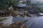 Nubifragio sulla Calabria nella notte: strade e case allagate, torrenti esondati