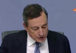 Draghi: «Spread danneggia capitale delle banche italiane» Le parole del presidente della BCE - Agenzia Vista/Alexander Jakhnagiev