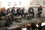 Un momento del talk di #ForumAutomotive dedicato alla guida autonoma