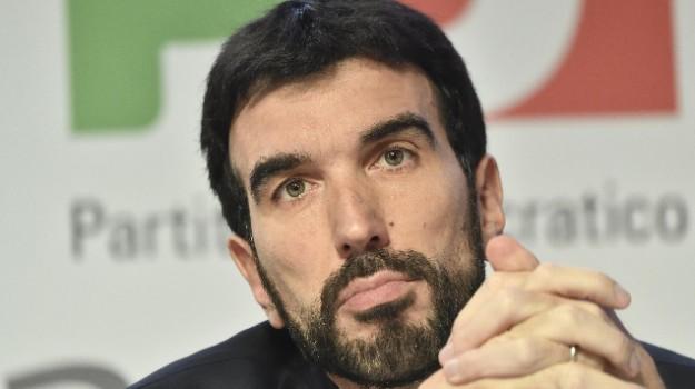 partito democratico, primarie pd, Maurizio Martina, Reggio, Calabria, Politica