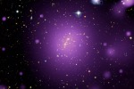 L'ammasso di galassie XLSSC006 osservato da XMM-Newton e altri telescopi (fonte: Esa/Xmm-Newton; Cfht; XXL Survey)