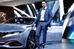Il premio Eurostar Design 2018 è stato ritirato dal responsabile dello stile Peugeot Pierre Paul Mattei