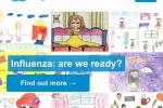 Il sito dell'Oms con il focus dedicato all'influenza