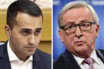 """Di Maio a viso aperto contro l'Ue: """"Tra sei mesi questi commissari andranno a casa"""""""